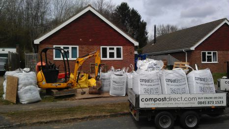 Compost direct building work